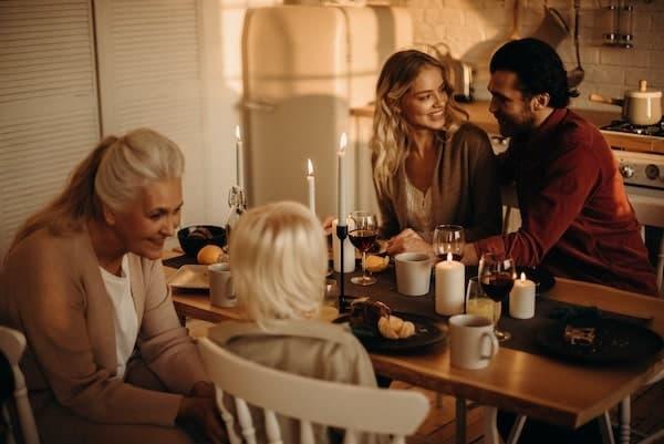 Weihnachten im Kreis der Famlie