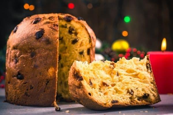 Panettone - Traditioneller Mailänder Weihnachtskuchen