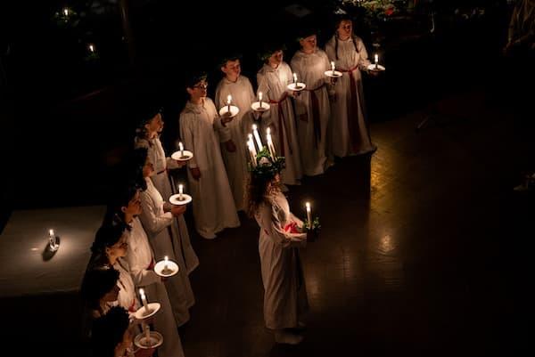 Feierlichkeiten zum Luciafest
