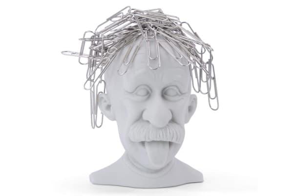 Magnetischer Büroklammerhalter Albert Einstein