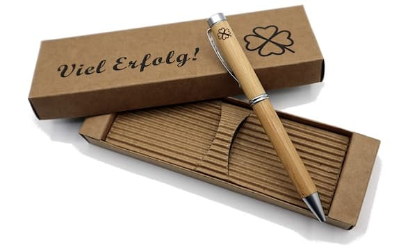 Edler Bambus-Kugelschreiber