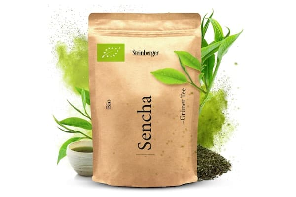 Grüner Tee, BIO Sencha Tee von Steinberger