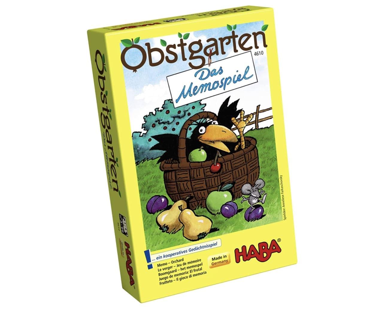 Haba Obstgarten Memo-Spiel