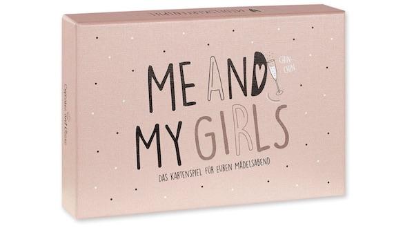 Wichtelgeschenk für Frauen: Kartenspiel Mädelsabend