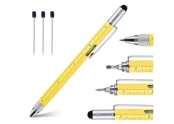 Gadget Wichtelgeschenk Multifunktions-Kugelschreiber