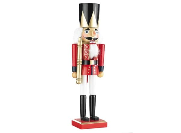 """Nussknacker Figur """"König"""""""
