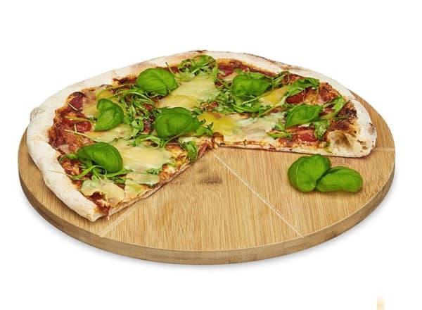 Pizzabrett aus Bambus