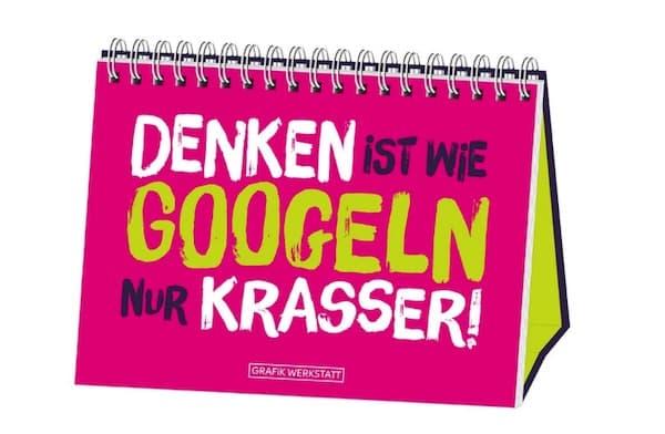 Spiralbuch: Denken ist wie googlen nur krasser!