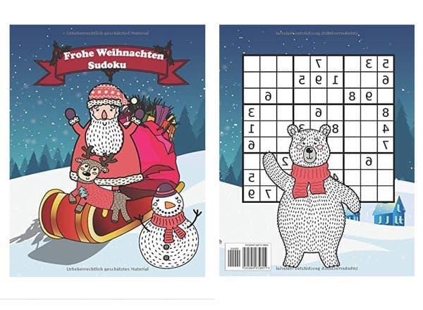 Sudoku Rätselbuch mit Lösungen