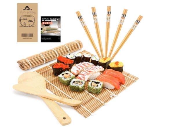 Sushi Set aus Bambus