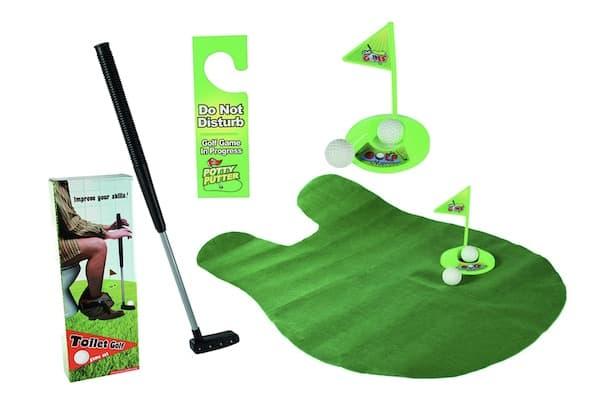 Toiletten Golf Set