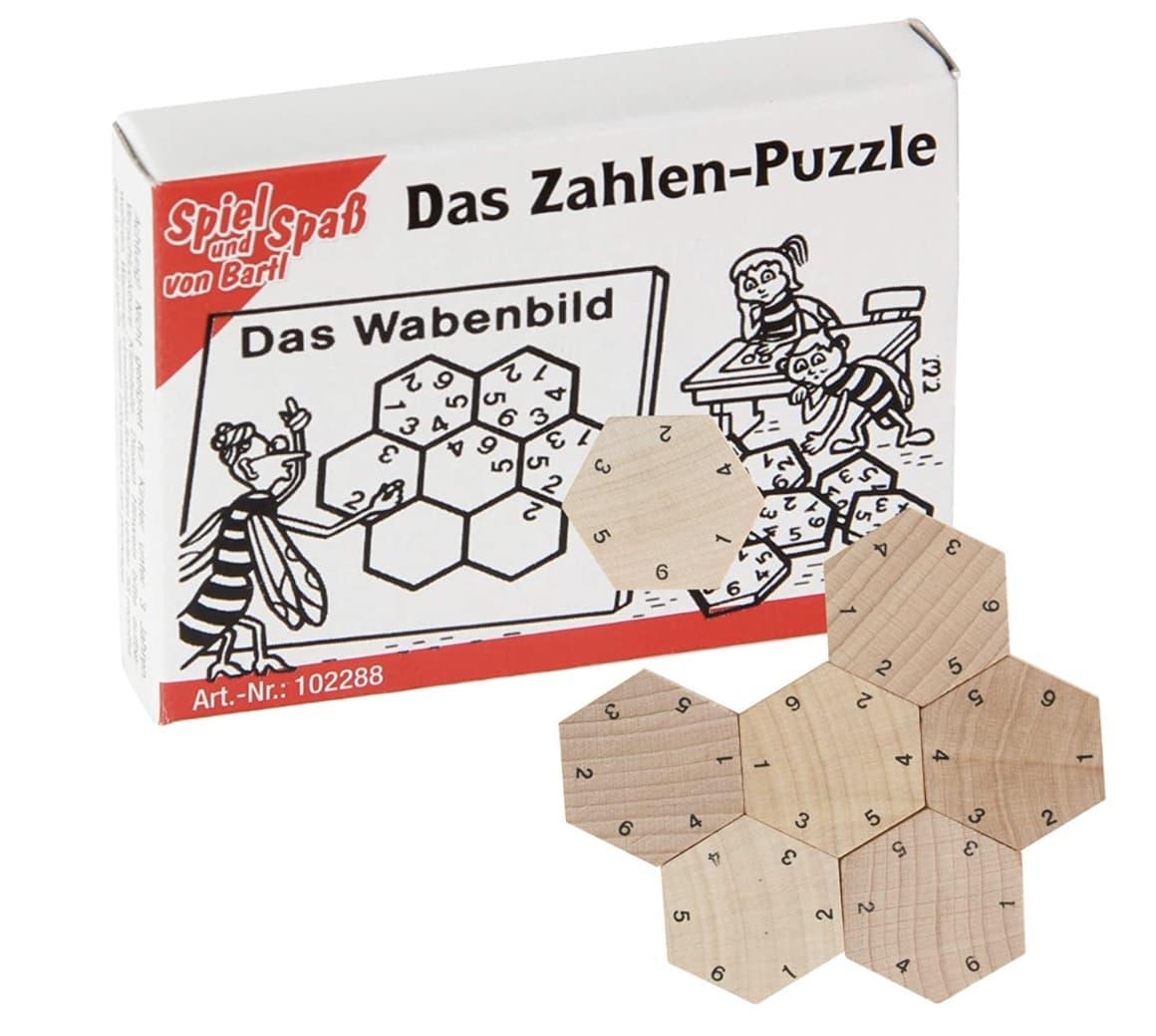 Wichtelgeschenk Kinder Zahlen Puzzle