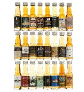 24 Days of Rum Original Adventskalender Inhalt