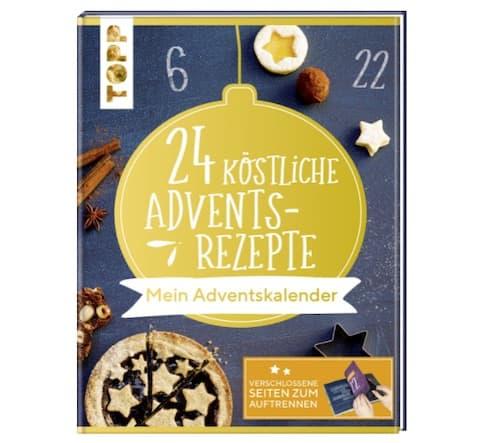 Adventskalender-Buch - 24 köstliche Adventsrezepte