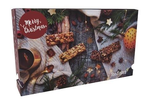 foodloose Nussriegel-Adventskalender