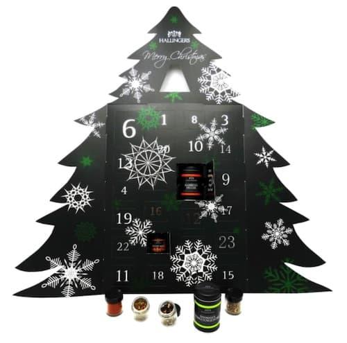 Hallingers Gewürz-Adventskalender Weihnachtsbaum