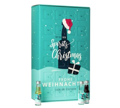 "Likör und Spirituosen Adventskalender ""Spirits Christmas"""