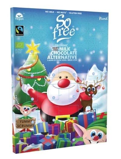 So free milchfreier Adventskalender