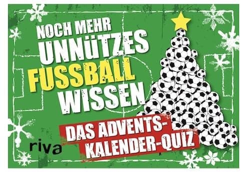 Unnützes Fußballwissen Adventskalender