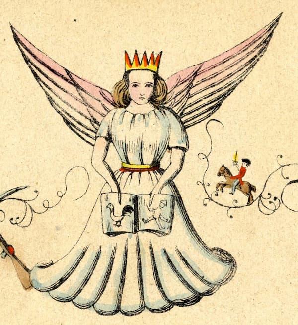 Mehr über die Geschichte des Christkinds als Geschenkebringer wissen